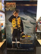 """La seconde guerre mondiale 1/6 Elite Force Raf Spitfire Fighter Pilot 12"""" Action Figure DRAGON Hot toy"""