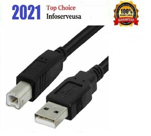 15ft USB 2.0 Extension /& 10ft A Male//B Male Cable for Brother HL-2040 Monochrome Laser Printer