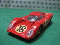 Vintage  -  FERRARI 312 P    -  1/43 Solido Ref. 177
