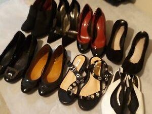 Women's Shoes Size 37-38 (×8)