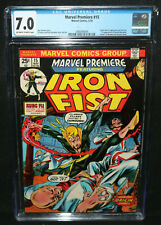 Marvel Premiere #15 - Origin & 1st App of Iron Fist - CGC Grade 7.0 - 1974