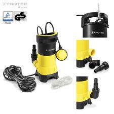 TROTEC Schmutzwasser Tauchpumpe TWP 11025 E | Wasserpumpe | Gartenpumpe | Pumpe