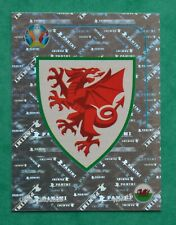 PANINI EURO 2020 REVIEW;   BADGE - WALES  No. WAL1