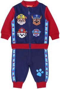 Red Navy blue Baby Tracksuit Paw Patrol
