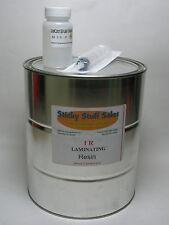 Professional grade IR laminating resin w/MEKP *Impact resistant* 1Gallon