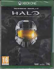 Halo The Master Chief Collection Xbox One Brand New Factory Sealed