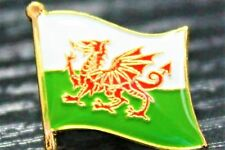 WALES Welsh Metal Flag Lapel Pin Badge *NEW*