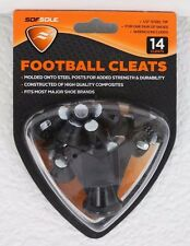 "New Sof Sole Football Cleats - 1/2"" Steel Tip - 1 Pkg of 14 Cleats - Wrench Incl"