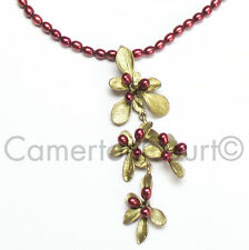 Barberry Shower Necklace by Michael Michaud  for Silver Seasons #8150