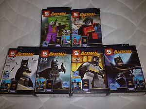 Sheng Yuan Building Block Lot of 6 Batman Series Figures
