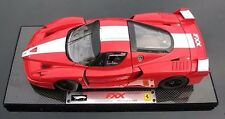 FERRARI FXX RACE CAR RED 1:18 by HOT WHEELS SUPER ELITE VERSION VERY RARE
