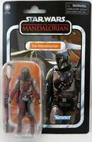 """STAR WARS VINTAGE COLLECTION MANDALORIAN 3 3/4 INCH ACTION FIGURE VC166 3.75"""""""