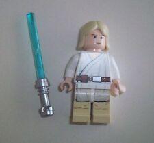 LEGO Star Wars Minifigure Luke Skywalker with weapon from 10188 10179 Like new