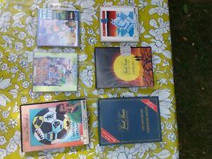 Commodore C64 Games Bundle / 6 x 5 1/4 disks in original cassette box