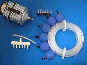 Eisfreihalter Teichbelüfter Sauerstoff Gartenteich Belüfter LK60 30Watt Set 2