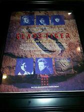 Glass Tiger Diamond Sun Rare Original Promo Poster Ad Framed!