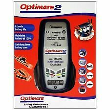 Optimate 2 Battery Charger UK Supplier & Warranty NEW