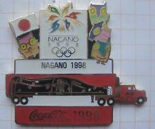 COCA-COLA / OLYMPISCHE SPIELE NAGANO 1998 TRUCK ... Pin (177d)