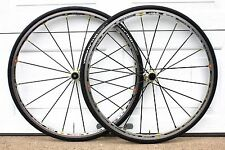 Mavic R-Sys SSC Carbon Spoke POST RECALL Clincher 11/10/9 Spd Wheelset NEW TIRES