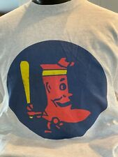 Boston Red Sox Vintage Logo T-Shirt 100% Cotton Light Grey XL