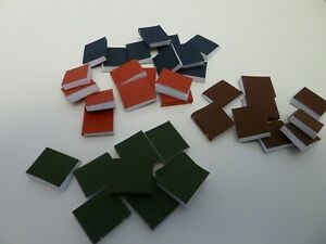 Dolls House Lounge Study Accessory Miniature 1:12th Scale Set of 36 Blank Books