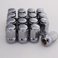 16 x ALLOY WHEEL NUTS FOR MG / ROVER (M12X1.5) RADIUS ROUND SEAT 19mm HEX CHROME