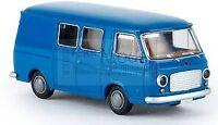 BREKINA 34430 - Fiat 238 mini bus blu, scala H0 1/87