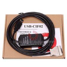 OMRON NEW CQM1-CIF02 USB-CIF02 PLC COMMUNICATION 3.3M CABLE, FREE SHIP