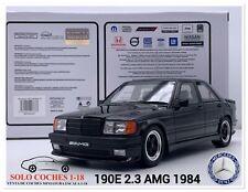 1:18 Mercedes Benz 190E 2.3 AMG año 1984 color Negro Otto Mobile OT754