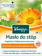 Kneipp Foot Butter 10% Urea Calendula Orange Oil Shea Butter VEGAN 100ml