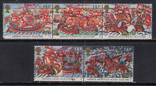 GB 1988 QE2 Spanish Armada Umm Set of 5 Stamps *( 1485 )