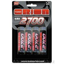 Orion 1.25V 2700mAh NiMH AA Batteries (4) - ORI13502