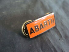 BADGE PLACCA ABARTH PER FIAT 1100 500  600 CARBURATORE OLD ITALY