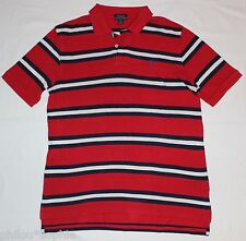 Ralph Lauren Pololshirt rot-geringelt Gr.XL Neuwertig