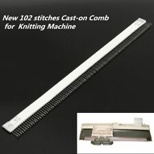 Cast-On Comb For Knitting Machine Stainless Steel Sewing Accessory Tool Supplies