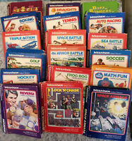 Mattel Intellivision Games - Various Titles - Check back often for more addition