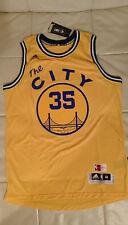 KEVIN DURANT Golden State Warriors GSW New MEDIUM M Yellow NBA Swingman Jersey