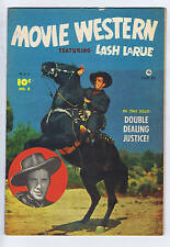 Movie Western Fearuring Lash Larue #8 Bell Features 1950 Canadian Edition
