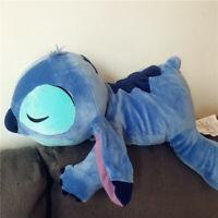 "Disney Parks Exclusive Sleeping Stitch Cuddleez 25"" Large Plush Doll"