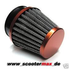 Filtre à air Filtre à Air Sport Orange 58-62 pour par exemple Mikuni TMX 38 CARBURATEUR NEUF