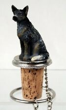 Australian Cattledog Blue Wine Stopper