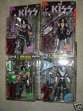 McFarlane KISS figures set of 4 w/ Letter stands MIP
