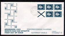 FDC met postzegelboekje PB 24, Philato, blanco/open