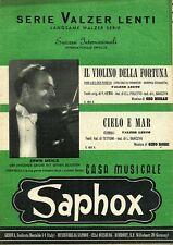 Serie Valzer Lenti # IL VIOLINO DELLA FORTUNA - CIELO E MAR # Saphox 1951