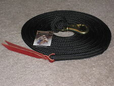 14 foot THOMEY LEAD, FITS PARELLI & NATURAL HORSE TRAINING BLACK