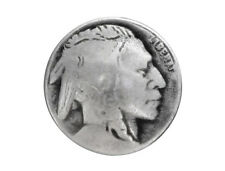 6 Indian Head 3/4 inch ( 20 mm ) Metal Buttons Antique Silver Color