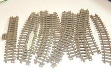 """PLASTIC TRAIN TRACK - APPROX 3/4"""" WIDE- 12 SECTIONS - H8"""