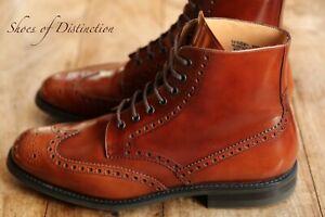 Men's Church's Tan Leather Brogue Boots UK 10.5 US 11.5 EU 44.5