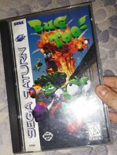 ORIGINAL Game BUG TOO! for SEGA SATURN
