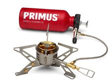 Primus Omnifuel II Camping Stove With Fuel Bottle and Pouch Grey/red 2017 Cooker